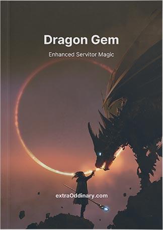 dragon gem servitor magic book